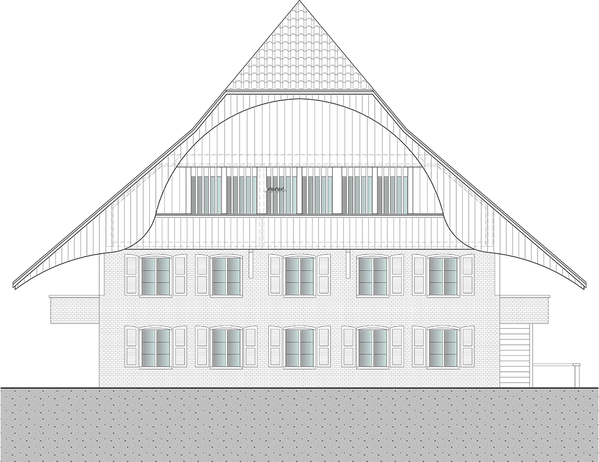 3 Zimmer Wohnung In Münsingen Imobersteg Architektur