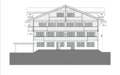 Neubau von Wohnhaus