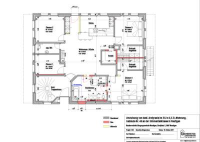 Grundriss Doktorhaus