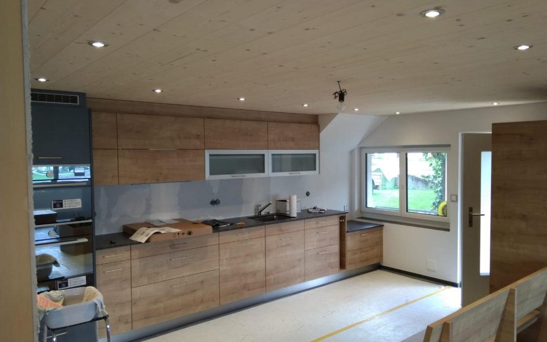 Sanierung und Ausbau Wohnhaus
